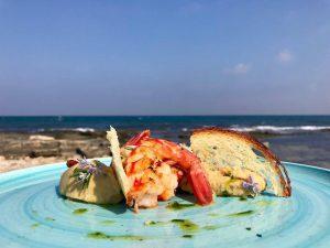 sposarsi in spiaggia la cucina